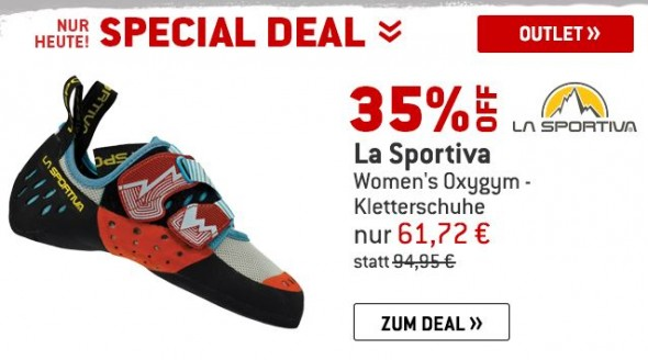 La Sportiva - Womens Oxygym - Kletterschuhe um 35% reduziert