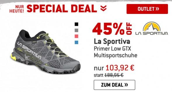 La Sportiva - Primer Low GTX - Multisportschuhe um 45% reduziert