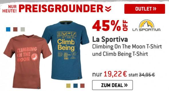 T-Shirts von La Sportiva um 45% reduziert