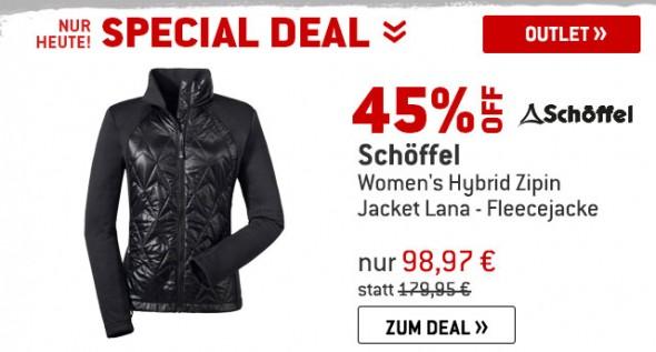 Schöffel - Womens Hybrid Zipin! - Fleecejacke um 45% reduziert