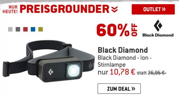 Black Diamond - Ion - Stirnlampe um 60% reduziert