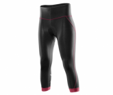 3/4 Radhose Cycle Compression Tight Damen blk/bab