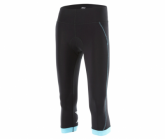 3/4 Radhose Cycle Compression Tight Damen blk/bla