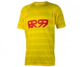 Bike Shirt Impact SS Herren yellow/red