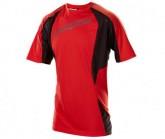 Bike Shirt Turbulence SS Herren flo red/charcoal