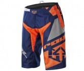 Bike Short Victory Race Herren navy blue/grey/flo orange