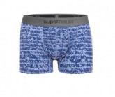 Boxer Base 175 Printed Herren light stone/sketch stripe print