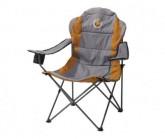 Campingstuhl Comfort grau/orange