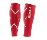 Compression Calf Guards Unisex red/red