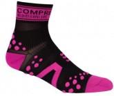 Compressport Socken PRS V2 Run HI Unisex Black/Pink