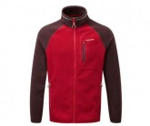 Fleece Jacke Ryeland IA Herren maple red/chs red