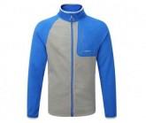 Fleece Jacke Salisbury Herren quarry grey/sport blue