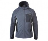 Fleecejacke BEN OSS Windproof Hood Herren darkgrey-black