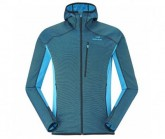 Fleecejacke Shift Wool Hood Herren effusion blue