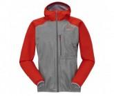 Goretex Jacke Target 3.0 Herren grey cloudy/rouge