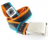 Gürtel Inner Tube Belt unisex türkis/orange