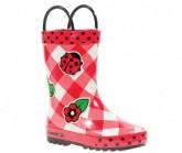 Gummistiefel Ladybug Kinder red