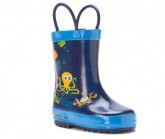 Gummistiefel Octopus Kinder dark blue