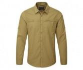 Hemd Kiwi Trek LS Shirt Herren light olive