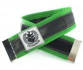 Hosenklammer Trousers Stripe apple green