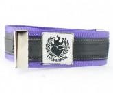 Hosenklammer Trousers Stripe purple