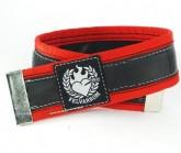 Hosenklammer Trousers Stripe red