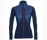 Insulator Jacke Ellipse Zip Damen admiral