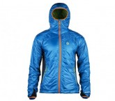 Insulator Jacke Jannu Herren duck blue/green lime