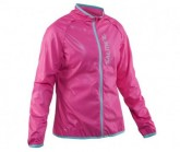 Laufjacke Ultralight Damen Pink Glo