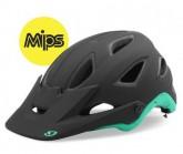 MTB-Helm Montaro Mips Unisex mat black/turquoise