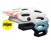 MTB-Helm Super 2 Mips Damen mat white/glacier blue sonic