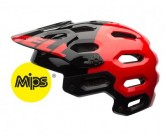MTB-Helm Super 2 Mips Unisex red/black aggression