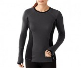 Merino Shirt PHD LS Damen charcoal heather