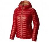 Mountain Hardwear Daunen Jacke Ghost Whisperer Hooded Damen Scarlet Red