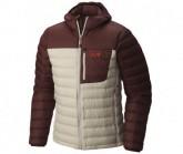 Mountain Hardwear Daunenjacke Dynotherm Hooded Herren Fossil/Redwood