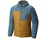 Mountain Hardwear Daunenjacke Dynotherm Hooded Herren Underbrush/Cloudburst