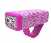 Multifunktionslicht  POP II Lampe, weiße LED, pink