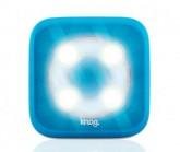 Multifunktionslicht Blinder 4 weiße LED circle blue