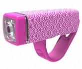 Multifunktionslicht POP I Lampe, weiße LED, pink