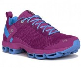 On Running Laufschuh Cloudsurfer Damen fuchsia/azure