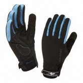 Rad Handschuh All Weather Cycle Damen black/sky blue