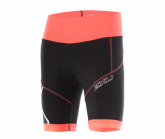Radhose Compression Cycle Short Damen blk/fcl