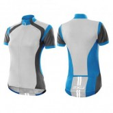 Radtrikot Active Cycle Jersey Damen cgy/spk