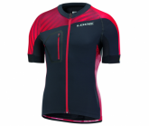 Radtrikot Jersey Ultra Herren black/red