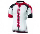 Radtrikot Proteam Jersey Herren white/red