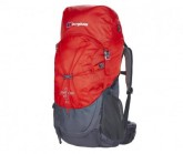Rucksack Freeflow II 40 Herren red-dkgrey