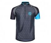 Shirt Falkon SS Zip Jersey Herren blue