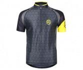 Shirt Falkon SS Zip Jersey Herren yellow
