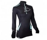 Shirt Wintertrail ML Damen black/turquoise