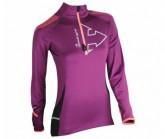 Shirt Wintertrail ML Damen prune/pink